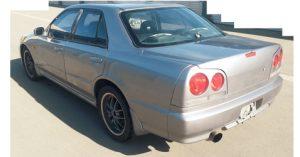 98 R34 SKYLINE GT SEDAN